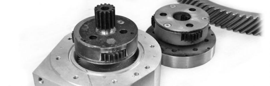 Gearbox designed by CHL for torque wrench testing-unit